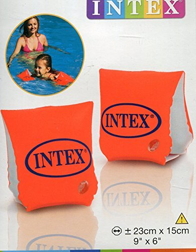 Intex - Arm Band Swim Trainers - 6.3 x 5 x 1.1 inches, 3.8 Ounces (4-Pack)