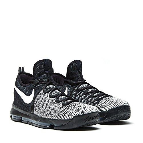 Nike Herren Zoom kd 9 Basketballschuhe, Blanco (Blanco (Black/White), 44.5 EU