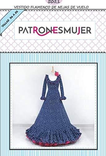 Nejas Flamenca patroon voor dames om zelf te maken. Video-utoriaal om je te helpen. Maat 36-52 multi-dimensionaal patroon op papier.
