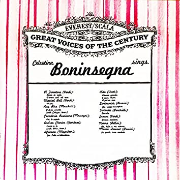 Celestina Boninsegna Sings