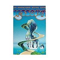 Yes Yessongs 1000ピース 木製 ジグソーパズル ゲーム おもちゃ 大人 ギフト アート 家族 お宅 リラックス ゲーム 誕生日プレゼント 12歳以上勧め