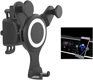 TDCQQ حامل الهاتف للسيارة ، حامل هاتف منفذ الهواء للسيارة ، حامل سيارة العالمي الجاذبية التلقائي متوافق XR Xs ماكس XS X 8 ...