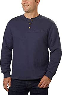 Stanley Men's Sherpa Lined Thermal Henley, Variety