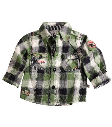 Kanz 1042537 Baby - Jungen Babybekleidung/ Hemden, Gr. 80, Grün (0002 )