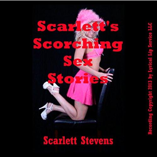 Scarlett's Scorching Sex Stories audiobook cover art