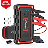 YABER Car Jump Starter, 1600A Peak 20000mAh Car Battery Booster