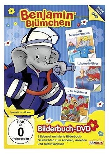 Benjamin als Feuerwehrmann/ als Lokomotivführer/ als Müllmann - Bilderbuch DVD 3
