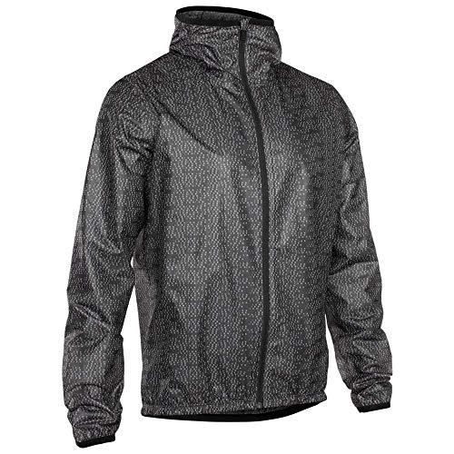 Ion Shelter Rain Fahrrad Regenjacke grau/schwarz 2019: Größe: L (52)