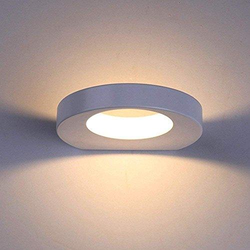 Lanfu 10W elegante lampada da parete bianco caldo di disegno moderno lampada a LED da parete lampada ideale per camere da letto, soggiorno, scala e sale a, 180 * 157 * 30mm
