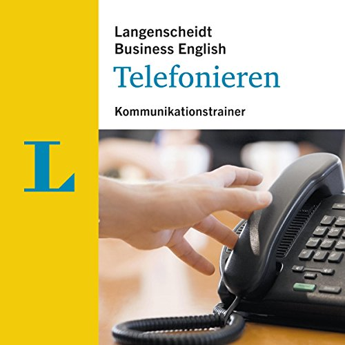 Telefonieren - Kommunikationstrainer (Langenscheidt Business English) Titelbild