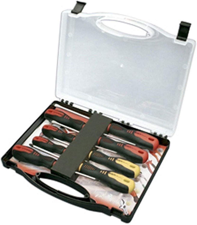 EGA Master 69912 69912 69912 – Set von 5 Schraubenzieher Rotork in Kunststoff Fall B017L3W3HG | Haltbarer Service  0a30aa