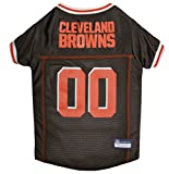 NFL CLEVELAND BROWNS DOG Jersey, X-Small Shirt Apparel Jersey Cute Outfit for DOGS or CATS & Small Animals