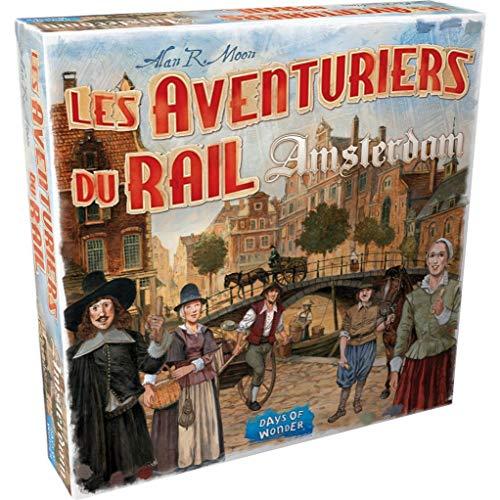 Days of Wonder Jeu Les Aventuriers du Rail : Amsterdam