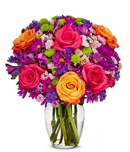 Regular discount From You Flowers - Pink Bouq Opening large release sale Daisies Purple Roses Orange
