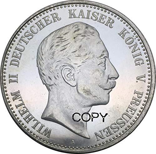 Eeng Deutsche Staaten 1900 Kaiser König von Preußen5 Mark Wilhelm II. Kopie Gedenkmünzen