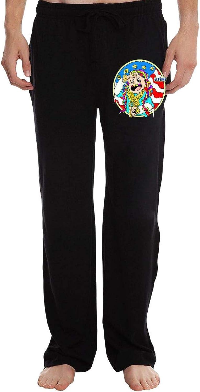 - Zinmmerm Men's Men's Men's Cool-6ix9ine-Day69-Sign Active Basic Jogger Sweatpants Black cbbd6d