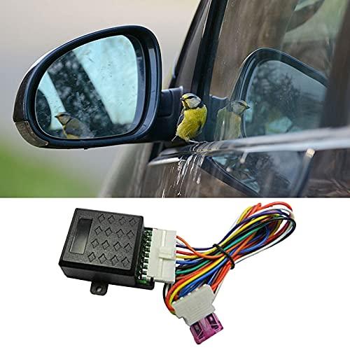 Exnemel Coche con Espejo Plegable, Universal Auto Plegable/desplegado Espejo retrovisor Lateral Dispositivo de Plegado automático Control Inteligente para Todos los automóviles