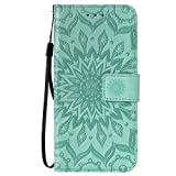 Huawei Y6 2019 Phone Case, Flip PU Leather Wallet Phone