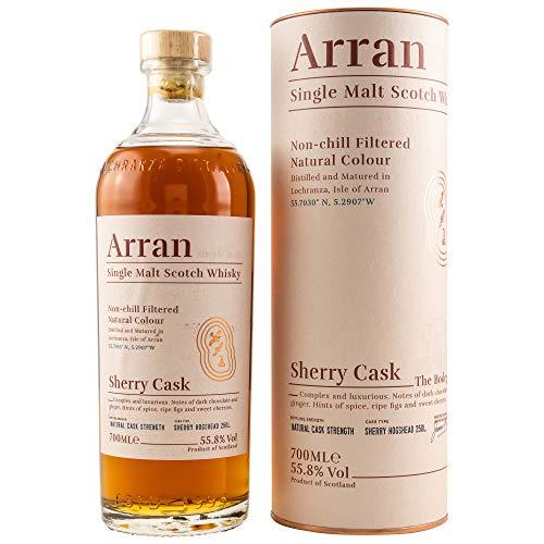 ARRAN SHERRY CASK The Bodega - Cask Strength 55,8% Vol 1x0,7L Single Malt Whisky