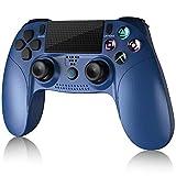Gamory Mando para PS4, Inalámbrico Mando para Playstation 4/Pro/Slim/ PC Inalámbrico ControladorWireless Bluetooth Gamepad Joystick con Vibración dualshock/ Seis Ejes/Pantalla LED/Puerto de Audio