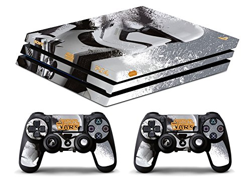 Skin Ps4 PRO - STAR WARS - limited edition DECAL COVER ADESIVA Playstation 4 Slim SONY BUNDLE - VINILE LUCIDO