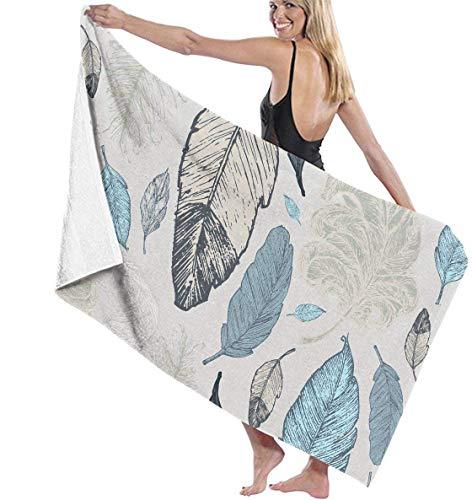 yuhuandadi I Love My Awesome Czech Wife Quick-Drying Pool Beach Towel Travel Bath Towel for Adults