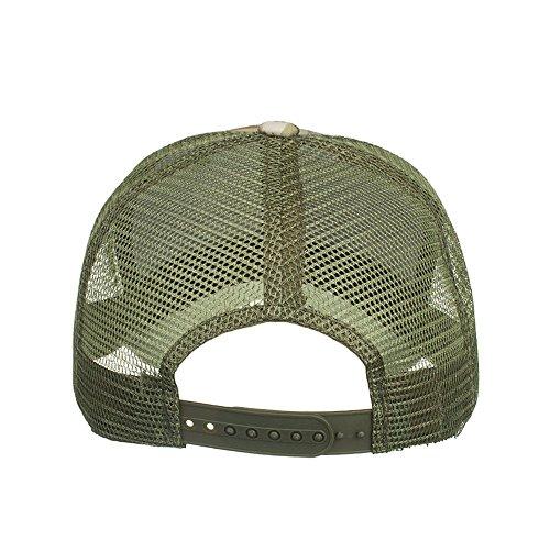 Moent Hat Moda Mujeres Hombres Ajustable Camuflaje Verano Cap Malla Sombreros De Béisbol Sombrero Sombras