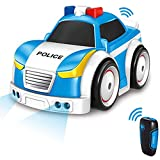 Masefu Car Toys for Kids, Police Car Toys with Lights Sounds, 4 Modes - 2.4 GHz Remote Control /...