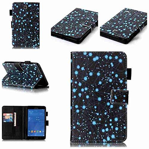 QiuKui Tab Funda para Samsung Galaxy Tab 4 7.0 T230 T231, Cubierta de Cuero PU de Soporte de Flip Soporte Pintado para Samsung Galaxy Tab 4 7.0 SM-T235 T239 (Color : Xingzuo)