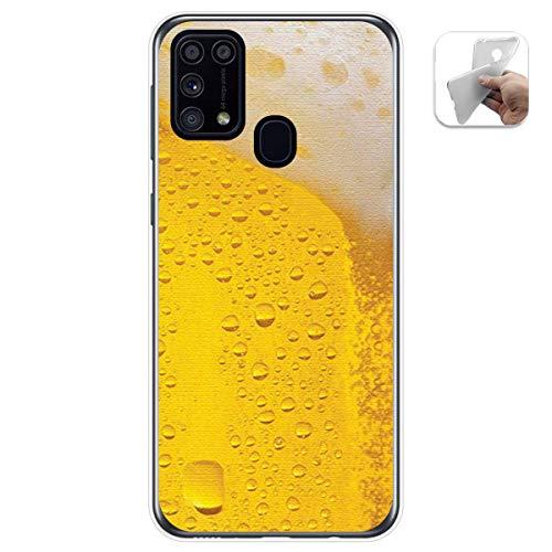 Tum&osmartphone Hülle Gel TPU Für Samsung Galaxy M31 Design Muster - Bier