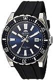 Orient Reloj analógico para Hombres de con Correa en Caucho FAC09004D0