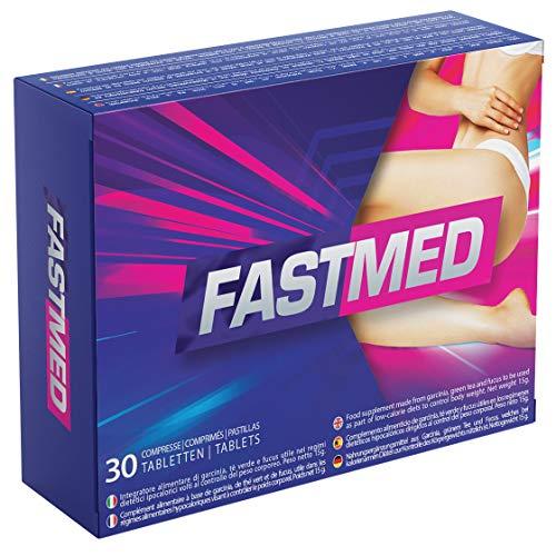 FastMed | Azione Ultra Rapida, Dimagrimento Veloce, Drenante e Depurativo, Effetto Detox, Riduce l'Appetito, 100% Senza Controindicazioni