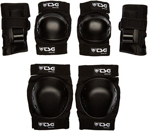 TSG Schoner Protection-Set Basic, Unisex, Negro, M