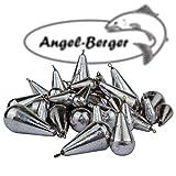 Angel-Berger Birnenblei mit Wirbel Angelblei Blei (20g)
