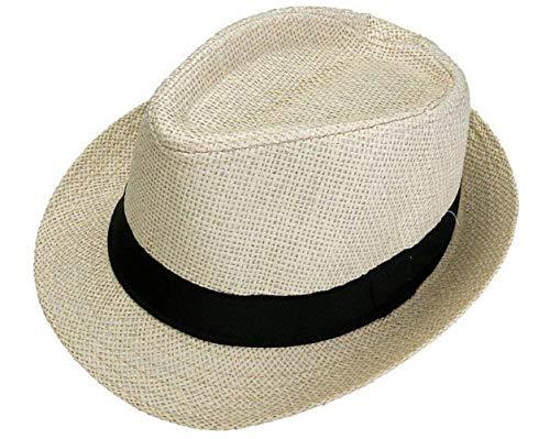 Sombrero De Paja para Hombre Unisex Verano Sombrero para De Mujer Vacaciones...