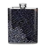 Computer Symbol Text Mode tragbare Edelstahl Flachmann Whisky Flasche für Männer...