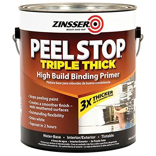 1 gal Zinsser 260924 White Zinsser, Peel Stop Triple Thick Ponding Primer Pack of 1