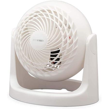 アイリスオーヤマ サーキュレーター 静音 8畳 マカロン マットデザイン 首振り固定 パワフル送風 コンパクト PCF-MKM15N-W ホワイト