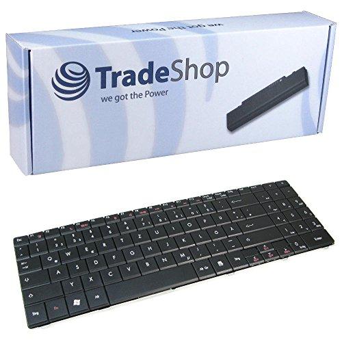 Trade-Shop Laptop-Tastatur / Notebook Keyboard Ersatz Austausch Deutsch QWERTZ für Packard Bell Easynote DT85 LJ65 LJ75 TJ65 TJ75 TJ66 TJ67 TJ68 TJ71 LJ61 LJ71 (Deutsches Tastaturlayout)