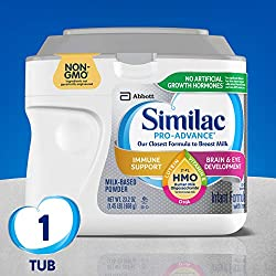 Similac Pro-Advance Non-GMO Infant Formula with Iron, with 2'-FL HMO, for Immune Support, Baby Formu