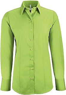 GREIFF Damen-Bluse Basic, Regular Fit, Stretch, Easy-Care, 6