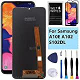 For Samsung a10e Screen Replacement kit for samsung Galaxy a10e Screen Replacement sm-a102 a102u1 s102dl lcd display Digitizer Touch screen with repair tools 5.83 Inch( A10e No Frame)