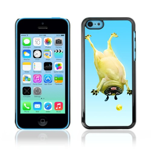 CelebrityCase Polycarbonate Hard Back Case Cover for Apple iPhone 5C ( Funny Pug )
