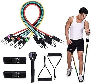 11 i 1 177 lbs latex rally hem fitness träning multifunktionell yoga elastiskt band lijiaxin