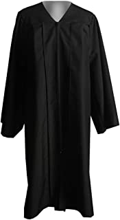 black and red clergy robes