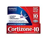 Cortizone 10 Maximum Strength Overnight Itch Relief Creme with Lavender Scent, 1 Ounce