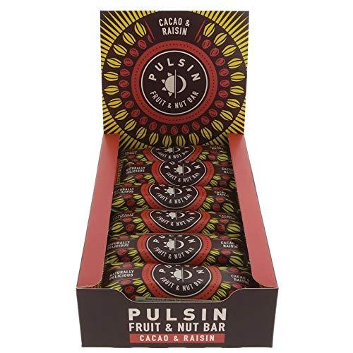 PULSIN' | Cacao & Raisin Bar | 10 x 35g (ES)