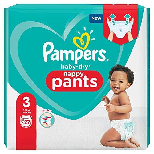 Pampers 81713142 Baby-Dry Pants windelhose, weiß