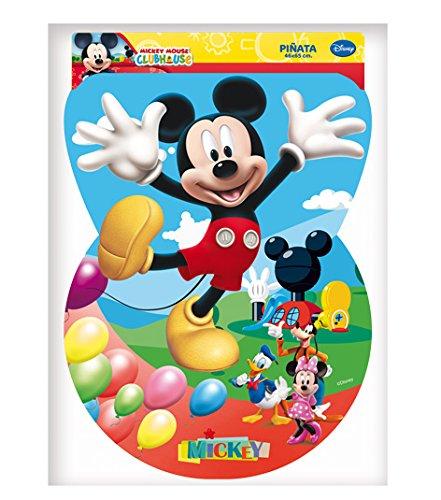 Mickey Mouse - Piñata Silueta Clubhouse, 46X65 cm (Verbetena 014000284)