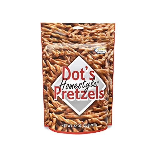 Dot#039s Homestyle Pretzels 2 lb Bag 1 Bag 32 oz Seasoned Pretzel Snack Sticks Packaging May Vary